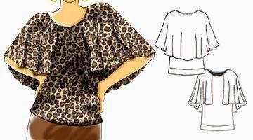 Je choisis la couture modèle gratuit: finition laquée (taille 34-56)
