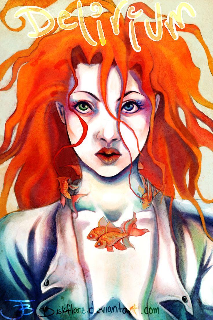 delirium fishies around neck (trench) | Delirium | Pinterest