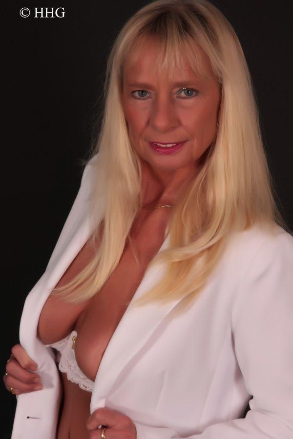 German Blonde Mature