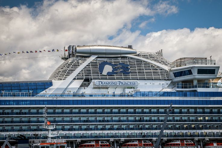 Diamond Princess – first visit for the season » Scotts Photography
