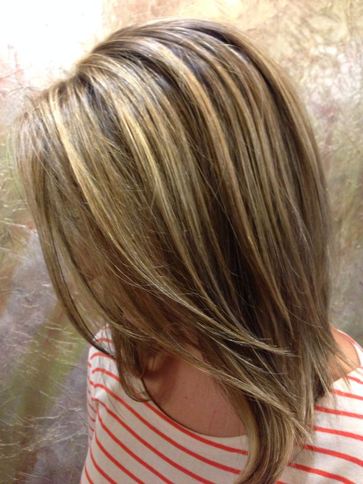 Medium Brown Hair Color With Highlights And Lowlights Natural Hair