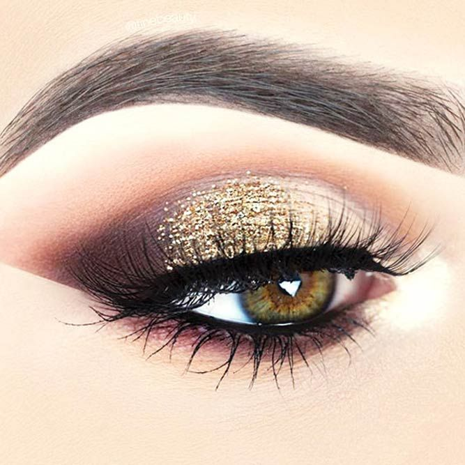 36 Cool Makeup Looks For Hazel Eyes And A Tutorial For Dessert