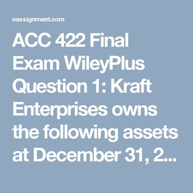 ACC 422 Final Exam WileyPlus Question 1: Kraft Enterprises owns the following assets at December 31, 2012.   Cash in bank, savings account 67, 516,  Checking account balance:26,445 Cash on Hand                          9,478     Postdated checks: 753 Cash refund due from IRS      40,324     ertificates of deposit(180 day)  94,754 What amount should be reported as cash?   Question 2:  Presented below is information related to Rembrandt Inc.'s inventory.  Per Units…