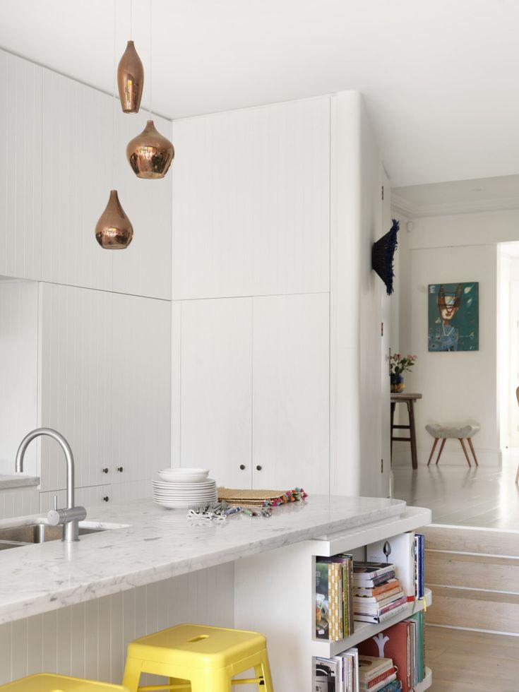 Paddington Terrace House by Luigi Rosselli Architects | © Justin Alexander