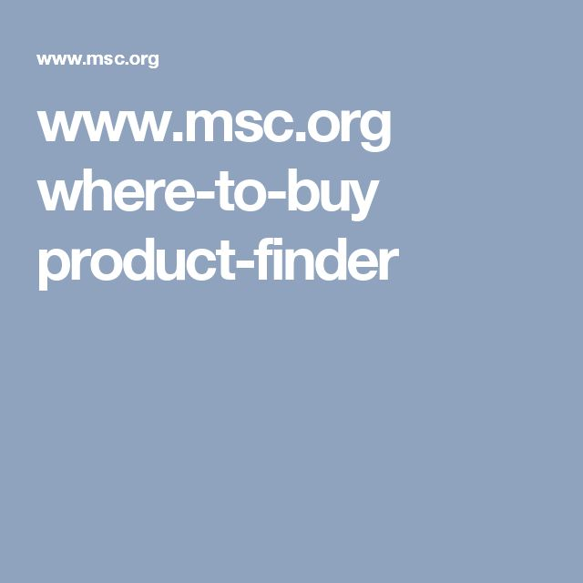www.msc.org where-to-buy product-finder