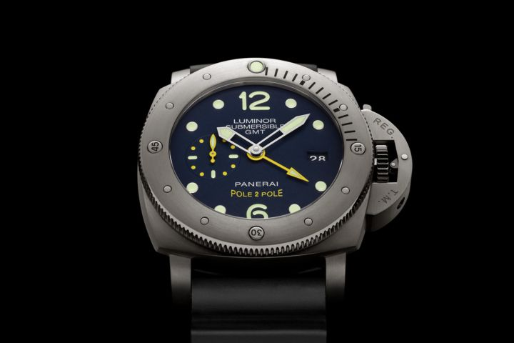 """Panerai and Mike Horn together again – Introducing the Panerai Luminor Submersible 1950 3 Days GMT """"Pole2Pole"""""""