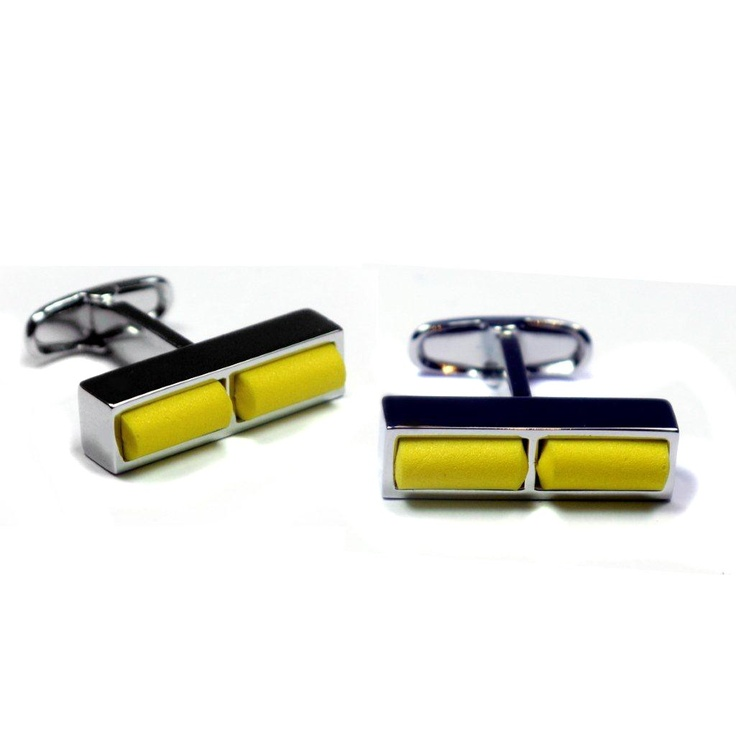 GiroGENT Jersey Yellow Cufflinks