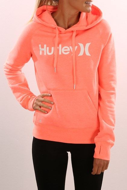 One & Only Pop Fleece Heather Bright Mango