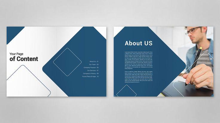 Company Profile Content Design