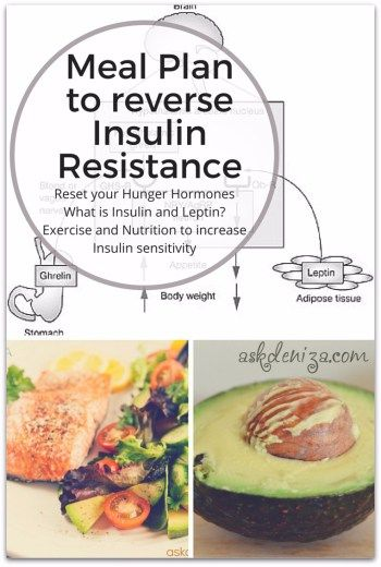Meal Plan to reverse Insulin and Leptin resistance. Nutrition tips and foods you should eat and the science behind weight loss.
