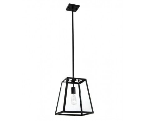 Southampton 1 Light Pendant in Antique Black | Traditional Pendants | Pendant Lights | Lighting