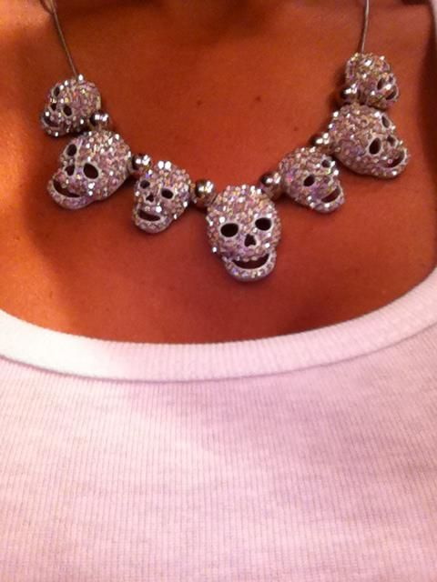 #skulls #necklace #fashion
