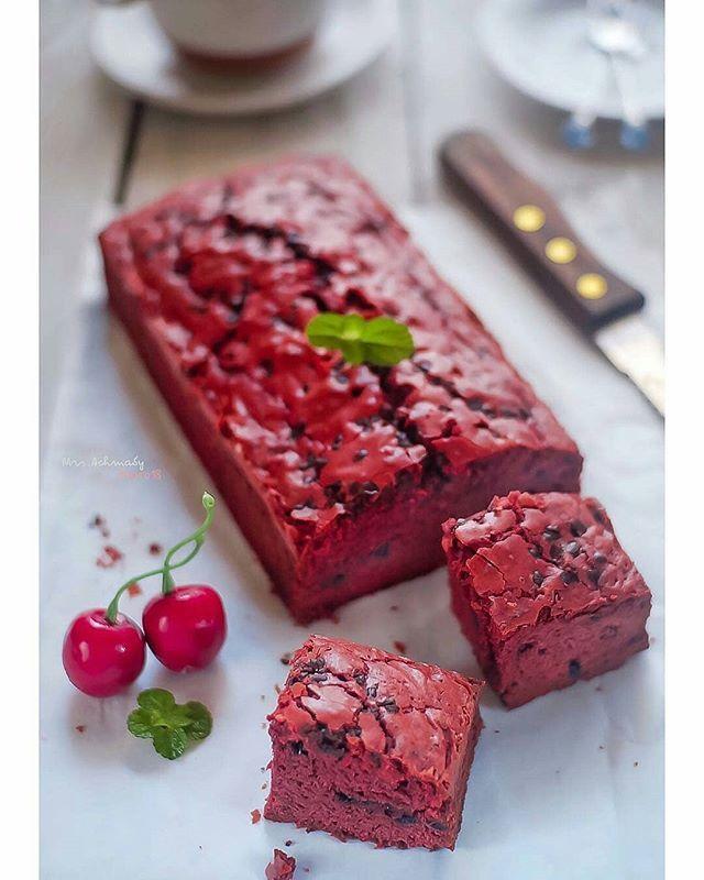 Red Velvet Fudgy Brownies By Mrs Achmady Bahan A 140 G Gula Pasir 2 Buah Telur Bahan B 150 G Terigu 2 Sdm Coklat Bubuk Resep Masakan Makanan Resep Kue