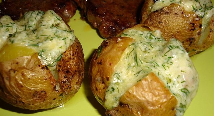 Zemiaky zapekané so syrom, cesnakom a bylinkami - Receptik.sk