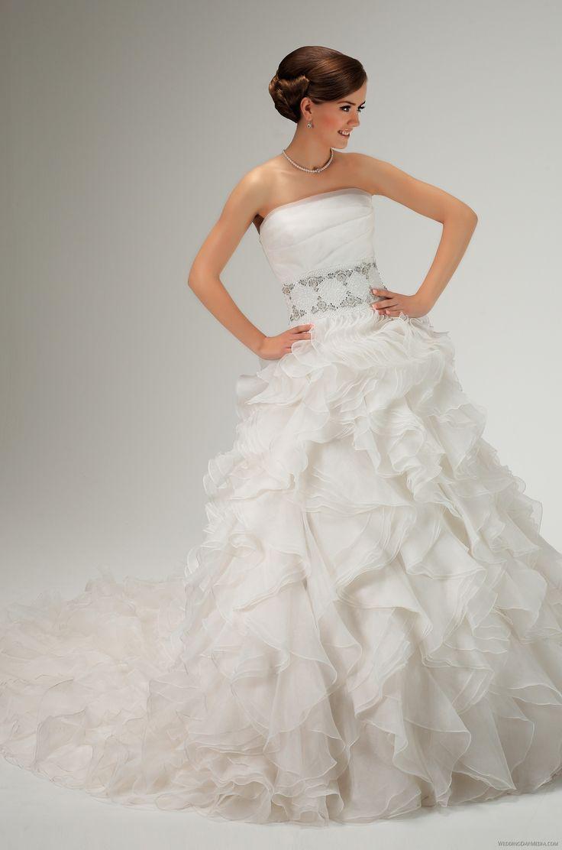 Hochzeitskleid gebraucht 36