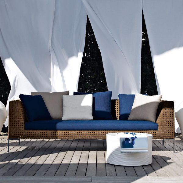 Charles Outdoor Sofa, Antonio Citterio, Bu0026B Italia. The Charles Outdoor  Sofa Is Part Of A Range That Was Developed Specifically For Outdoor Use.