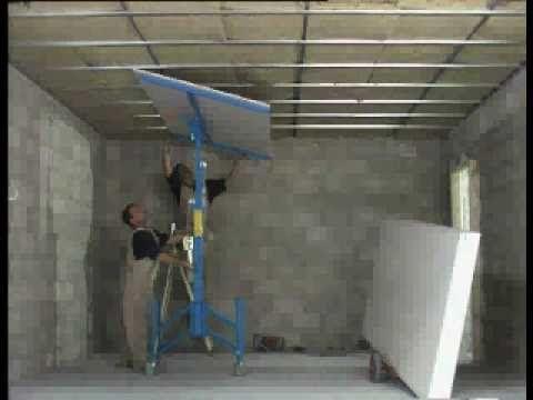 DECORESC - Montaje Pladur Techos y paredes - YouTube