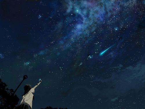 Nature : Starry Night Sky Wallpaper Free Spring Wallpaper
