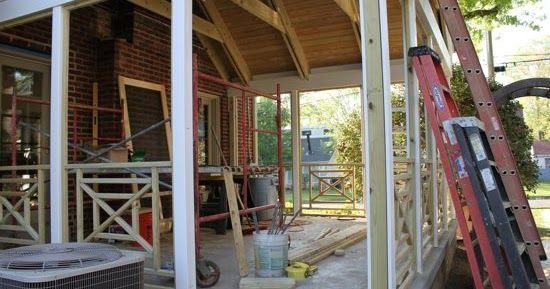 I am really hoping we are down to the last leg of our screen porch renovation journey. Ideally, we'll be done this week but the weather wil...