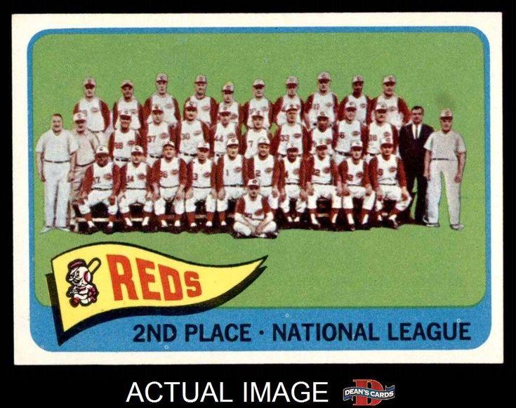 1965 Topps #316 Reds Team Reds NM #Reds