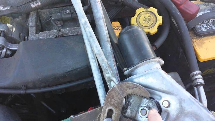 2003 subaru wrx wagon adjusting bolt and wiper mot