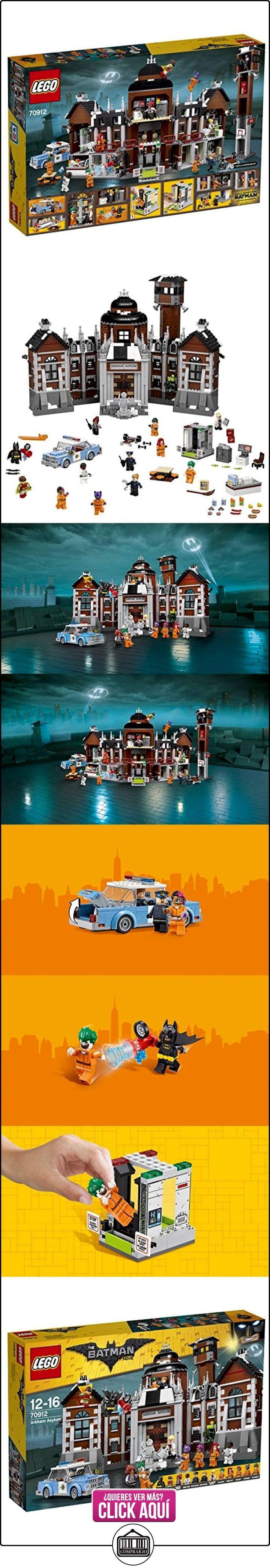 LEGO Batman Movie Arkham Asylum - juegos de construcción  ✿ Lego - el surtido más amplio ✿ ▬► Ver oferta: https://comprar.io/goto/B01N2WQ70K