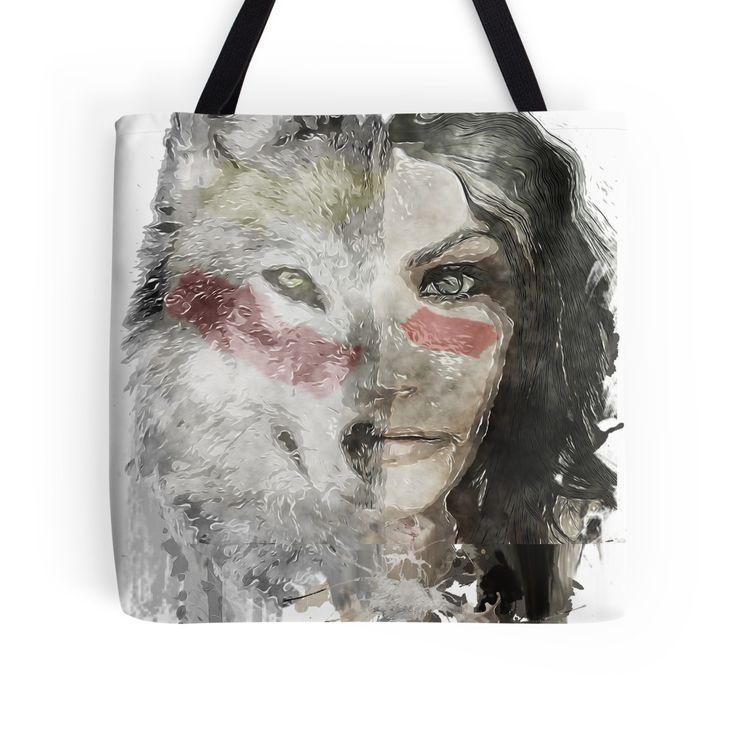 wolf lady  by Caroline Cordier