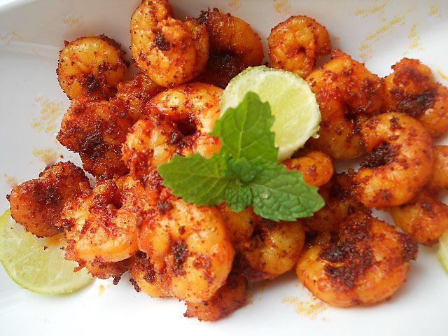 Goan prawn fry how to make goan prawn fry ooh la la goan for Shrimp and fish recipes