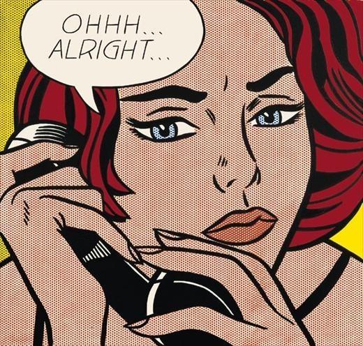 Roy Lichtenstein: A Retrospective: Roylichtenstein, Pop Art, Artist, 1964, Popart, Roy Lichtenstein