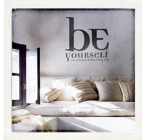 Be yourself wall sticker - at mydeco.com - Shop for your home from Europe's best boutiques. This product is delivered by storynorth