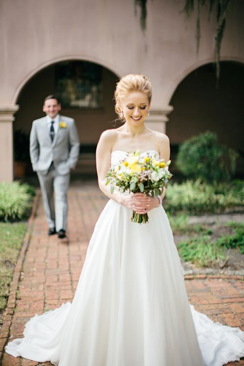 adorable pre first look photo by Brooke Images