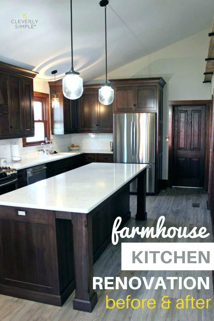 Image Result For Dark Wood Kitchen Cabinets With Dark Wood Floors