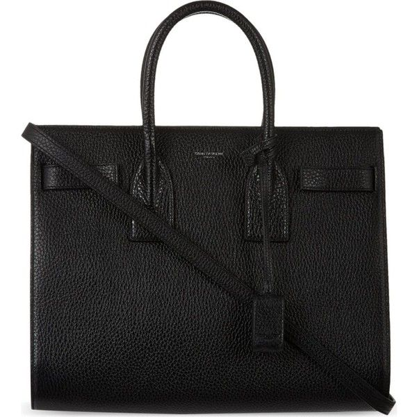 SAINT LAURENT Small Sac De Jour tote found on Polyvore