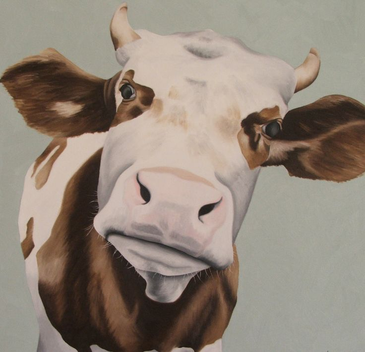 """Inquisitive Cow"" Sold at the NZ Artshow 2014"