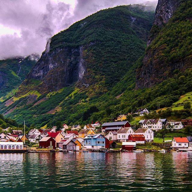 Sognefjord, Norwegen #norwegen #Sognefjord