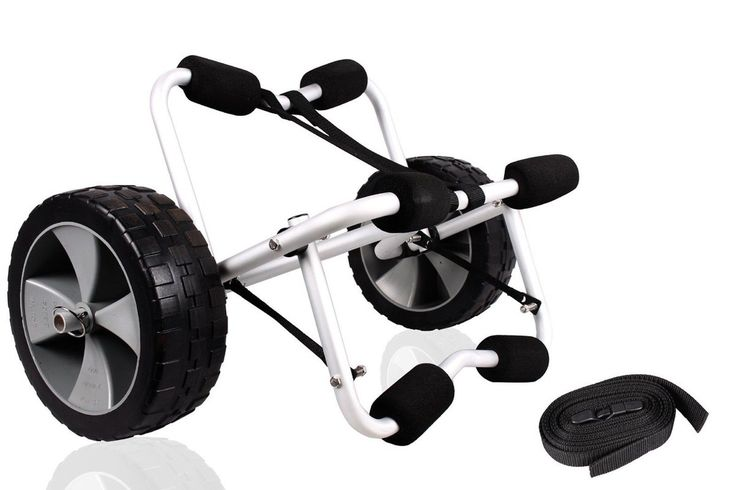 TMS CART-CANOE/KAYAK-KY001((B)) Deluxe Boat Kayak Canoe Carrier Dolly Trailer...