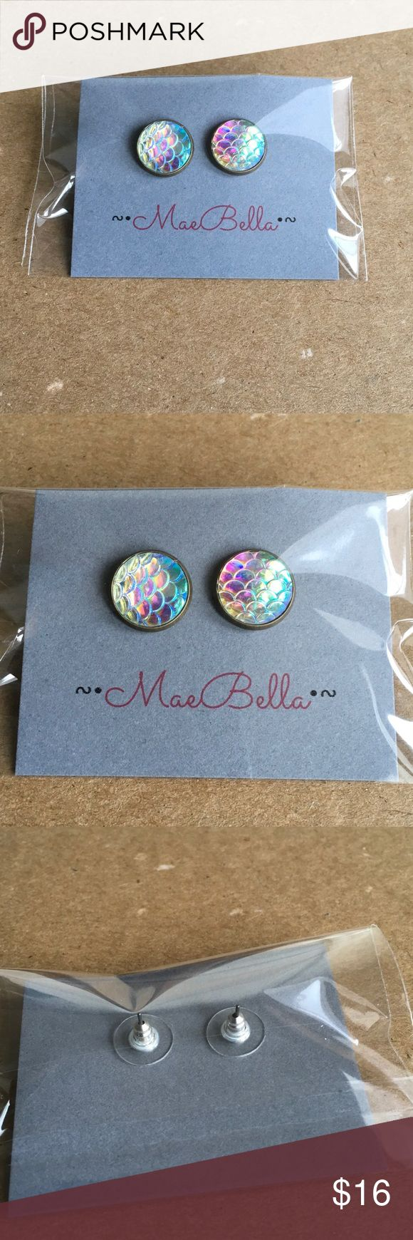 Pearl Mermaid Earrings Boutique