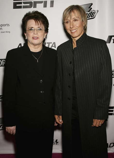 Billie Jean King Gay 91