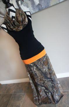 knee length camo skirt real tree - Google Search