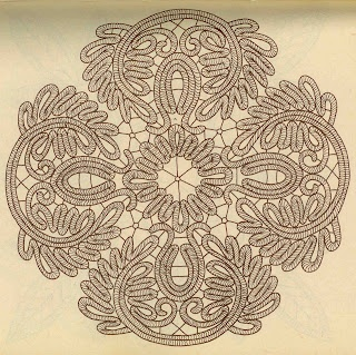 Point Lace patterns from Ileana Keizer