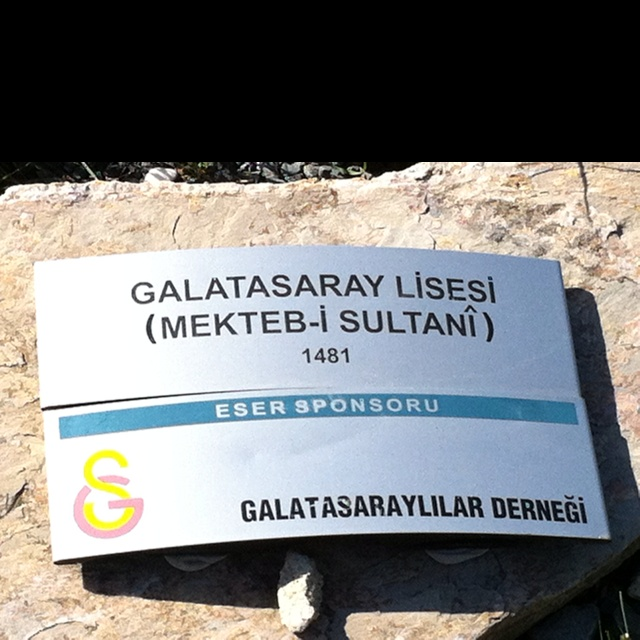 Galatasaray high school - not only great football players; it has also produced brilliant writers artists politicians statesmen than any other educational institute in Turkey