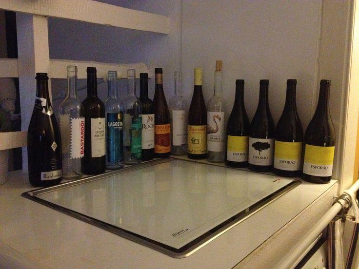Portuguese wines, ranked in order of preference from right: ~ joint 1st: Esporao vinho branco + reserva (red) ~ joint 2nd: Alvarinho deu de deu + Herdade de Gambia ~ 3rd: Herdade do peso - vinha de Monte (regional Alentejano)