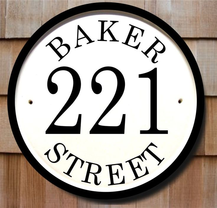 Classy Plaques Store - House Number Plaque with Three Numbers, $139.00 (http://www.classyplaques.com/house-number-plaque-with-three-numbers/ceramic-house-number-signs)