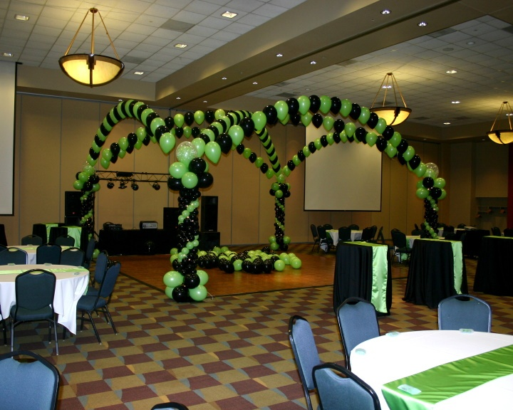 Dance Floor Canopy By Balloons By Design Madison Wi