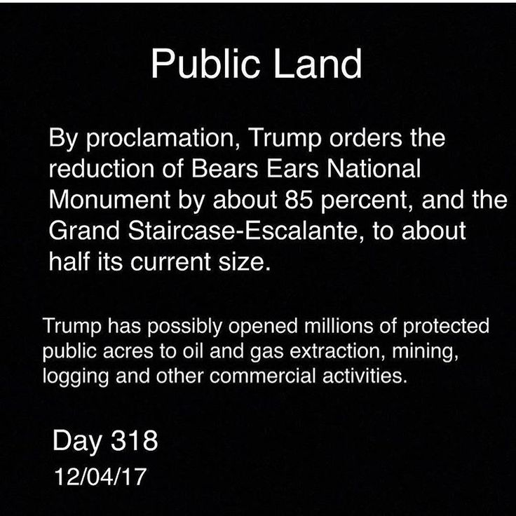 @wsj (Story link in bio): President Donald Trump signed orders Monday that significantly reduce the size of Utahs Bears Ears and Grand Staircase-Escalante national monuments marking the largest ever withdrawal of federally protected lands in the U.S. experts sayan act already facing a legal challenge.  Bears Ears established just last year by President Barack Obama will be reduced to about one seventh of its original sizedown to around 200000 acres from 1.35 millionand split into two…
