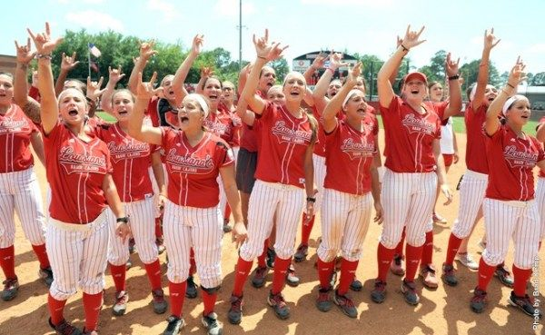 Ragin Cajuns Softball, Saturday October 18th