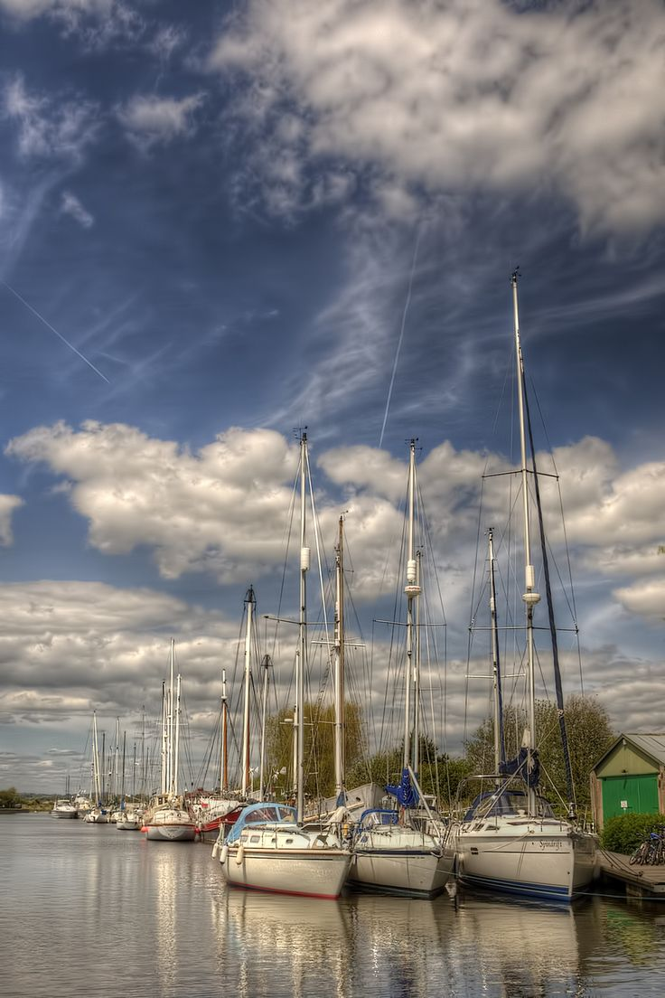 Moored at the dock...