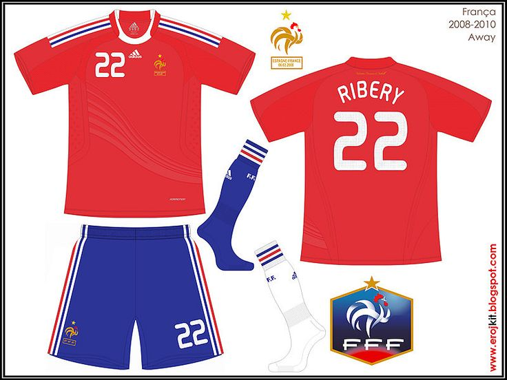 France | away jersey | 2008-10