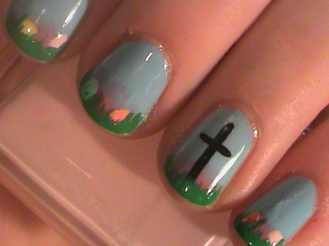 67 best nails images on pinterest hairstyles cross nail art and 67 best nails images on pinterest hairstyles cross nail art and easter nails prinsesfo Gallery