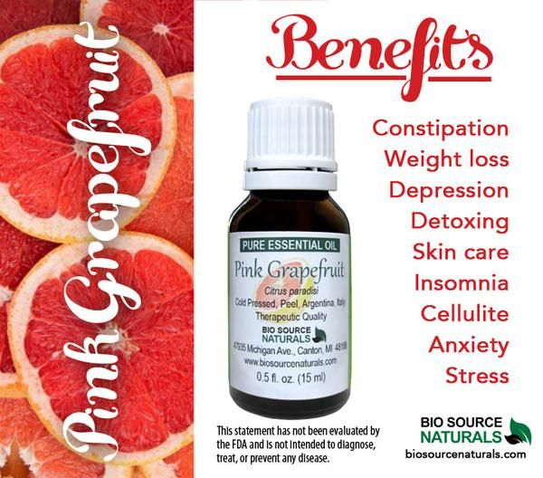 Pink Grapefruit Pure Essential Oil - 1 fl oz (30 ml)